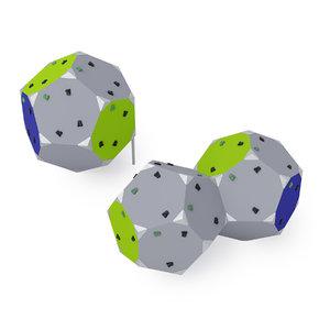 3D climbing blocks 1 2 model
