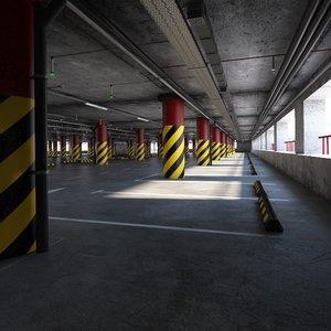 parking scene ready model