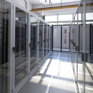 3D model data center