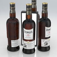 Alcohol Bottle Dewar's True Scotch Aged 12 Years Blended Whisky 700ml 2020