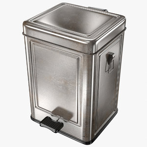 3D container dustbin