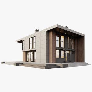 loft house 3D
