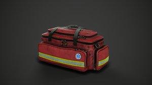 3D medical bag model