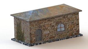 modelled old roof model