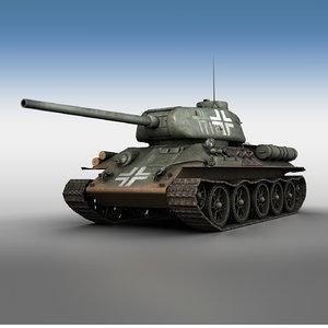 3D captured 85 german service
