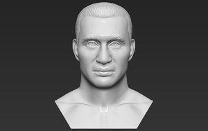 wladimir klitschko bust printing 3D model