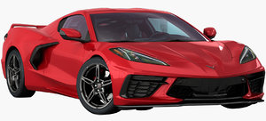 3D chevrolet corvette c8 stingray