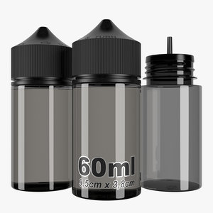3D bottle 60ml type4