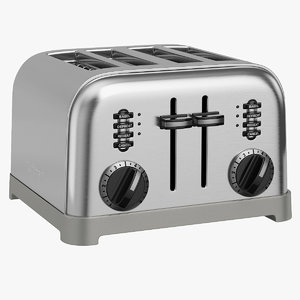 toaster cuisinart toast 3D model