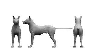 3D monster dog