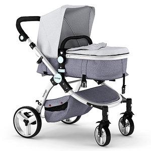 3D model baby stroller mamago