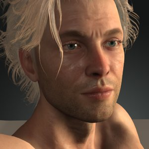 realistic johnnyhero uw 3D model