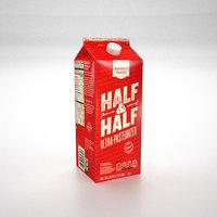 3D milk carton box ar
