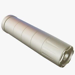 silencer a-tec h2 3D model