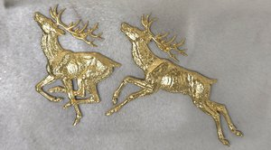 3D deer stucco molding
