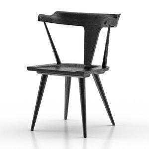 westan dining chair 3D
