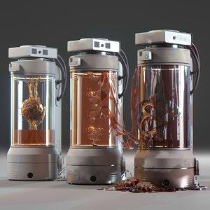 3D capsule laboratory model