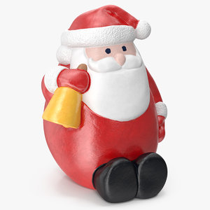 santa claus decorative figurine 3D model