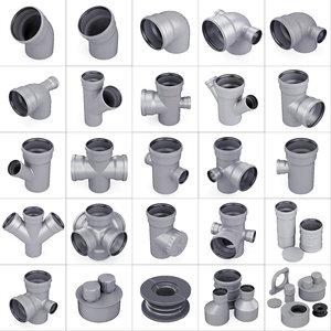 3D trumpet sewerage