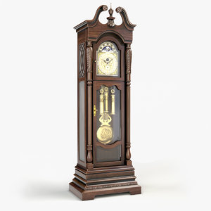 lindsey grandfather clock model