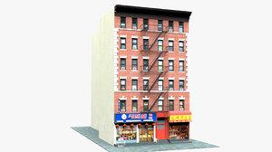 chinatown shanghai restaurant new york 3D model