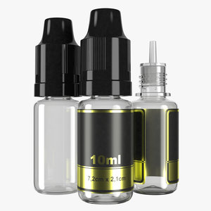 10ml bottle type3 3D model