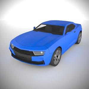 3D polycar n62 lp1 cars model