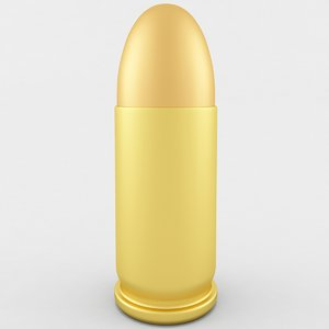 3D model 32 acp cartridge