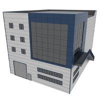 Factory Building, Composite Panel Facade