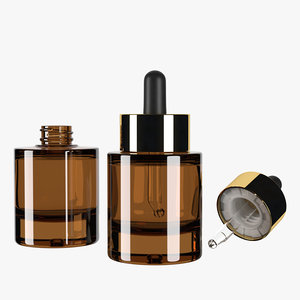 3D heavy bottle 30ml model