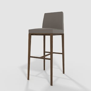 calligaris bess stool 3D