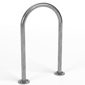 inverted u bicycle rack model