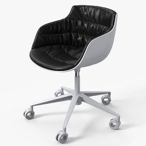 flow slim chair 3D