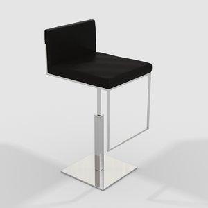 calligaris stool 3D model