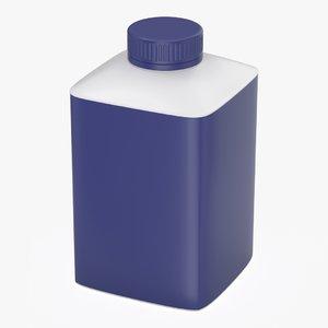 plastic food drink model