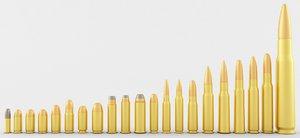 pistol rifle cartridges model