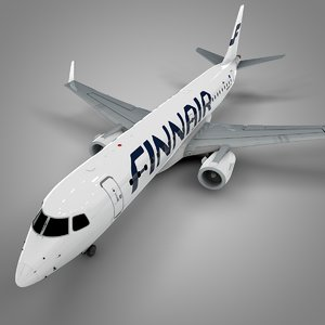 finnair embraer190 l610 model