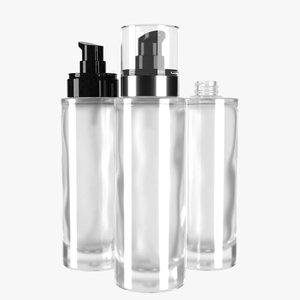 bottle 100ml type8 3D model