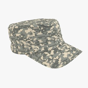 military cap 3D model