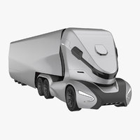 Self-Driving Truck Concept