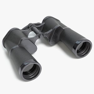 binoculars pbr 3D