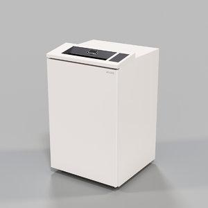 paper shredder 3D