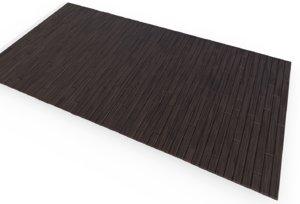 3D model wood flooring finishes