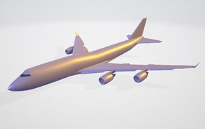 commercial aircraft model