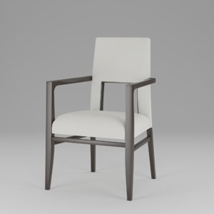 contract holt dining chair 3D model