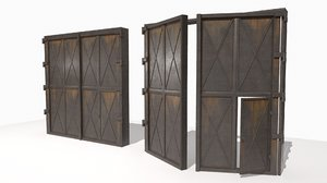 3D realistic metal gates