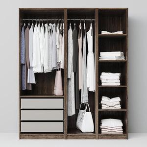 garerob wardrobe 3D model