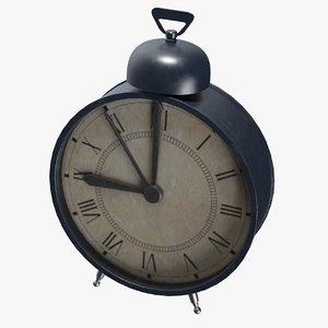 3D clock model