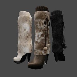 boots fur 3d 3ds