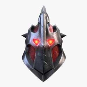3D helmet armor